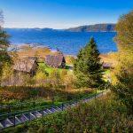 Image du fjord du Saguenay au Site de la Nouvelle-France